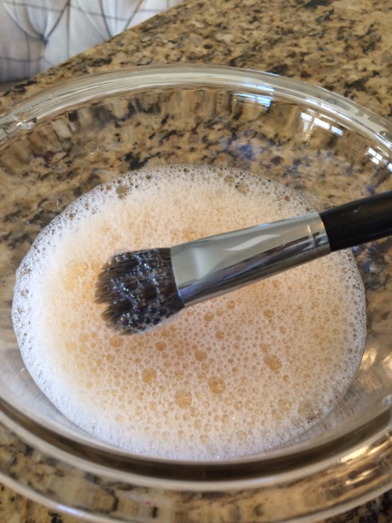 Step 1 DIY Makeup Brush Cleaning